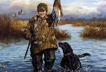 Κυνήγι υδρόβιων πτηνών