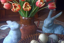 Easter Flowers / Spring inspirations for Easter entertaining from the experts at aboutflowersblog.com