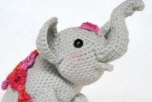 Amigurumi elefante
