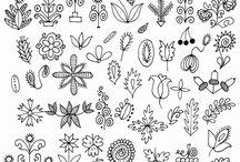 Tattoos & patterns
