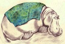 Hippos & Rhinos / by Laura Ottina