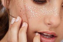 Glitzer Make up