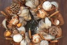 Kerst / Krans van droge materialen