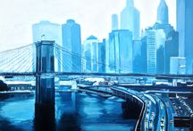 Paintings of New York City / Paintings of New York City that form part of my New York Series