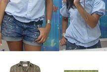Costura e customização / Corte, costura, customização de roupas e upcycling