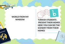 World from my Window Takev e-twinning Club Students