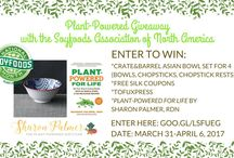 Plant-Powered Giveaways / Check out Sharon's latest giveaways on The Plant-Powered Blog.
