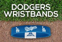 Los Angeles Dodgers MLB Wristbands and Fan Gear / Shop for Los Angeles Dodgers MLB wristbands and fan gear. Find your teams MLB bracelets and gear at Skootz! http://www.skootz.com/