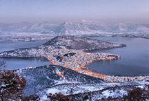 Greek lakes