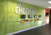 KidMin Check-in Kiosks & Spaces / Check-in kiosks and spaces in church lobbies and kidmin areas.