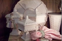 Milk Glass Inspirations / by Toni Collier