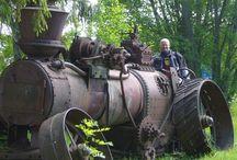 Baltic States & Finland Road Stream Engines esp Plouging