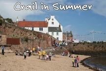 Crail Harbour Beach