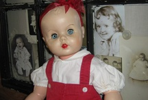 Antique,vintage, new, I love dolls. / Mostly vintage and antique dolls on this board / by Victoria Hawkins-Smith