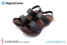 RegettaCanoe CJLW5505 / Low Wedge Shoes Style