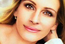 Julia Roberts / She's funny, sweetheart, human-being, her beautiful smile, beautiful person.  / by David