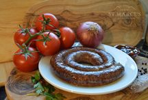 St. Marcus Boerewors Range / Our traditional Boerewors is made from only the finest ingredients. A fresh, farm style sausage that's a taste of Africa!  Available to shop here http://www.biltongstmarcus.co.uk/shop/category/butchery/boerewors/