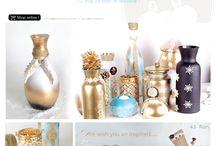 Decoratiuni lucrate manual & Cadouri personalizate / by Eventure Central Store | Toni Malloni, Event Designer & Corina Matei, Graphic Designer www.c-store.ro | www.eventure.com.ro | www.eventina.ro