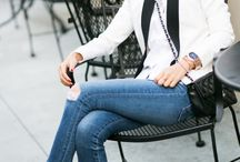 Pops of Color / How to add an unexpected pop of color to any outfit.