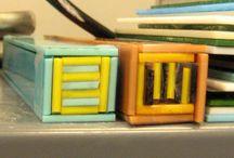 fused glass pattern bars / by Ilene Goldman