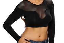 Crop Tops / Sexy crop tops for women. Cheap crop tops dropship from China top women's clothing supplier Dear-Lover. Global dropshipping crop tops online.