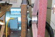 Blacksmithing Belt Grinder