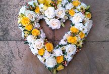 Wendy B Floral Designs / Funeral tributes for a loved one.