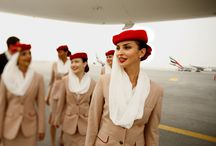 uniformity / flight crew uniforms worn around the globe.