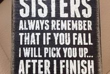 Sister Plaques
