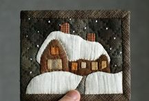 Patchwork-Miniquilt