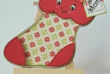 Cards...Christmas...Mittens, Stockings & Skates