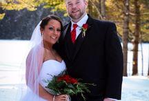 Our Wedding / Winter wedding in Maine!