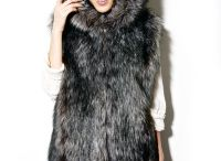 FAUX FUR | Мех / faux fur designer coats and gilets made in Russia with love to animals