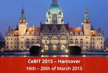 Our Presence In Exhibitions / CeBIT 2015 : Hannover, here we comes!
