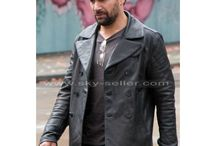 Beta Test Manu Bennett Black Leather Coat / If you are looking for Creed Beta Test Black Leather Jacket, Sky-Seller is the place that offers with worldwide free shipping.