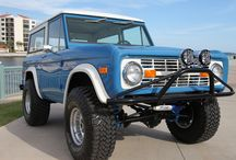 Classic Ford Bronco built by Velocity Restorations / Classic Ford Bronco's that we have restored or modified