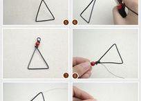 Jewelry, handmade stuff. Wire,beads,etc... / by Karol Kinne