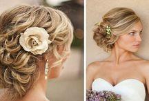 Chignons mariage / Nous vous proposons des idées de coiffure pour un mariage