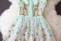 Vestidos meninas costureira