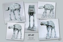 Paper models - own creation