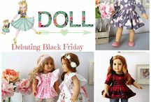 """Doll Clothing Patterns 18"""" {Violette Field Threads}"""