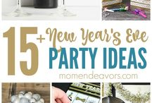 NYE / New Years Eve Celebration Ideas