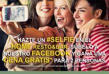 Concursos / Concursos, promociones y otras actividades desarrolladas por el Home Resto&Bar