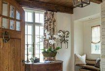 Creamy Golden Interiors