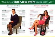 Dress for Success / Tips on how to dress for your interview, office attire etc.