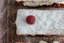 Gâteau / tarte / tiramisu...