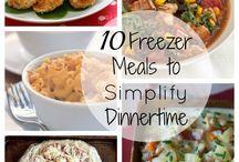 Freezer,crockpot and make ahead meals