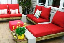 outdoor living / by Angie Miller