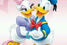 Donald si Daisy