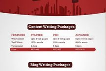 Best Content Writing Packages In Dubai